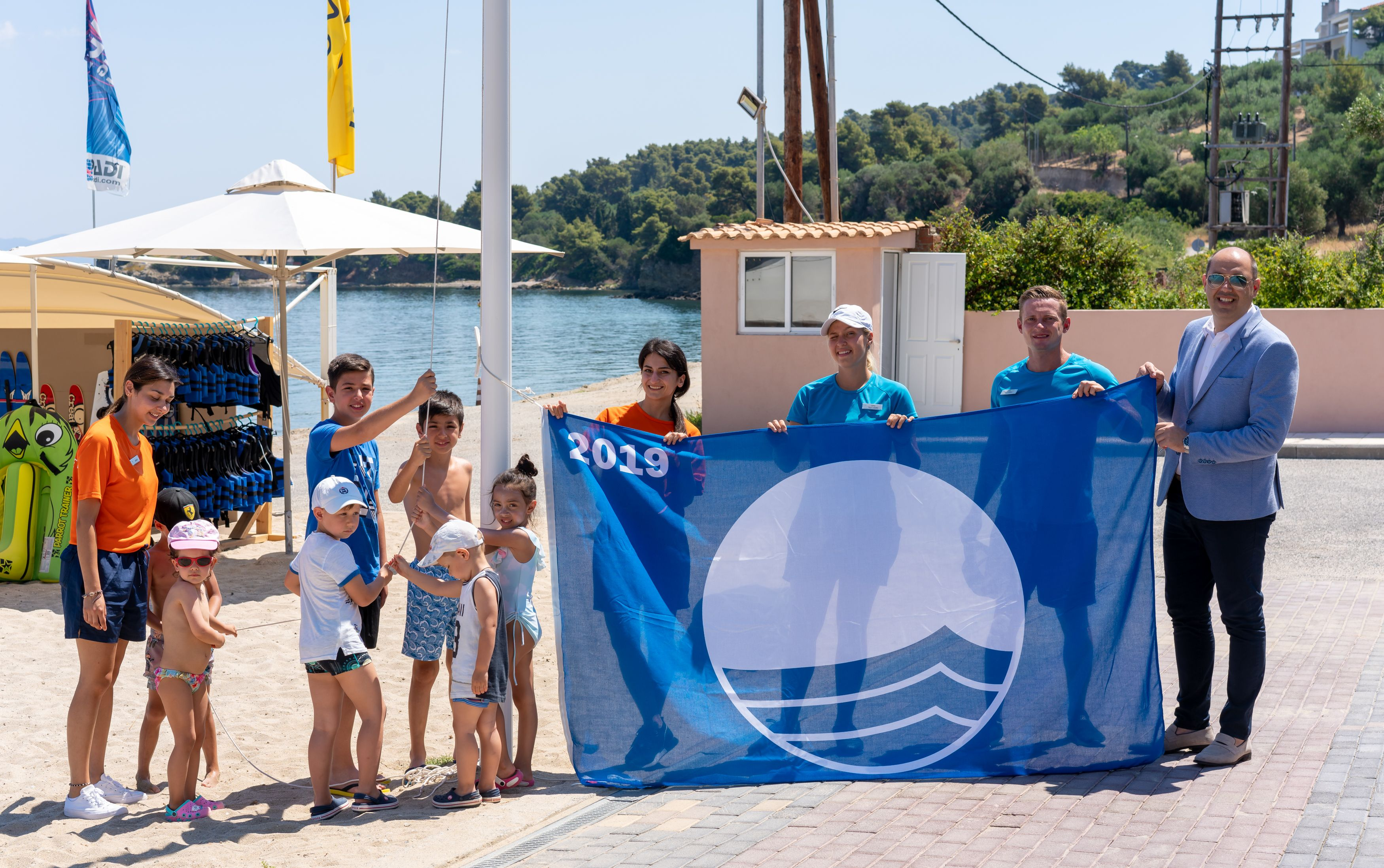 Miraggio Thermal Spa Resort awarded with the Blue Flag