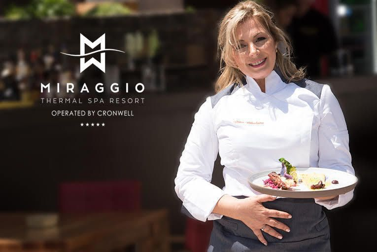 DINA NIKOLAOU AS BRAND CHEF FOR MIRAGGIO